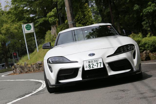 トヨタ 新型「スープラ」SZ-Rグレードの試乗イメージ