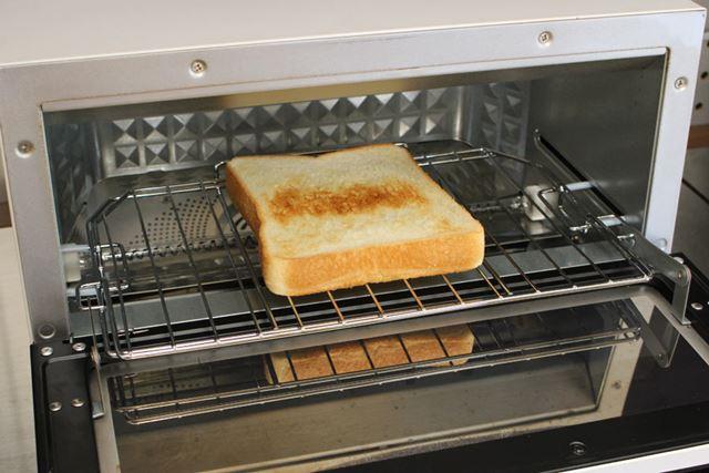 そして1分後にできたトーストがこちら
