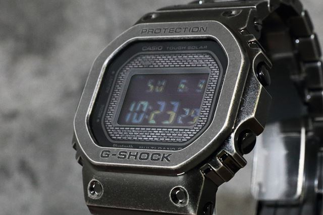 2019年6月に発売されたG-SHOCK「GMW-B5000V-1JR」