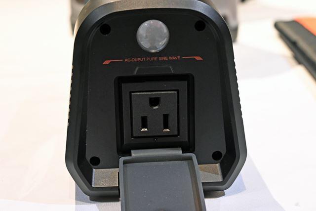 ACやDC、USBやシガーソケットといった多彩な出力に対応