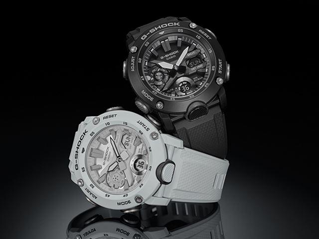 「ブラック」が「GA-2000S-1AJF」(15,000円)で、「ホワイト」が「GA-2000S-7AJF」(15,000円)