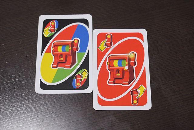 このような「ジャックポット」カードを出すと、ジャックポットマシンのスロットを回すことができます