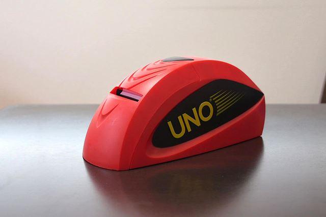 「UNOアタック」には、このアタックマシンが付属