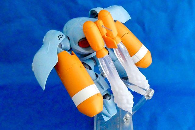 エフェクトパーツを付ければ、よりリアルな水中潜航シーンに
