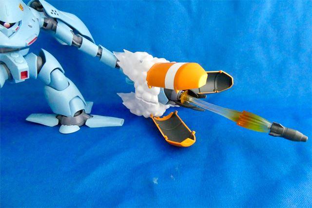 エフェクトパーツを使ってミサイル発射を再現! このこだわりが「ver. A.N.I.M.E.」シリーズです