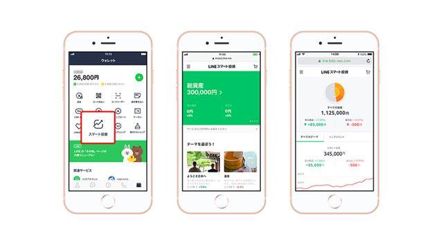 実際の画面を見てもわかるとおり、LINEユーザーなら直感的に使えるように工夫されています。なお、なお、ワンコイン投資を始めるには、口座開設とともにLINE Payでの銀行口座登録と本人確認が必要になります