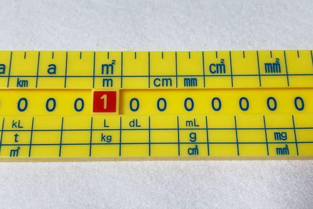 1リットル(L)は、10デシリットル(dL)で、1,000ミリリットル(mL)だということもわかります