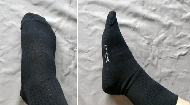 足へのフィット感もほどよい感じ
