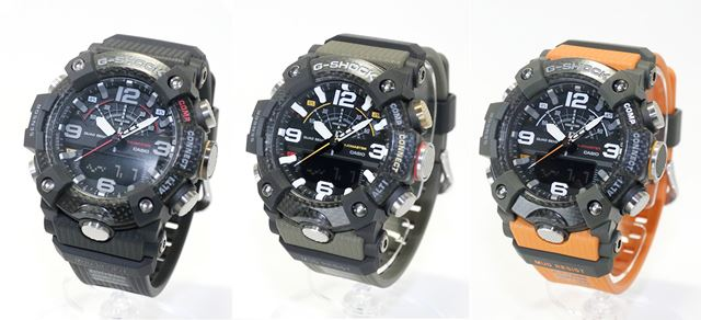 左から「GG-B100-1AJF」「GG-B100-1A3JF」「GG-B100-1A9JF」。公式サイト価格は各48,600円(税込)