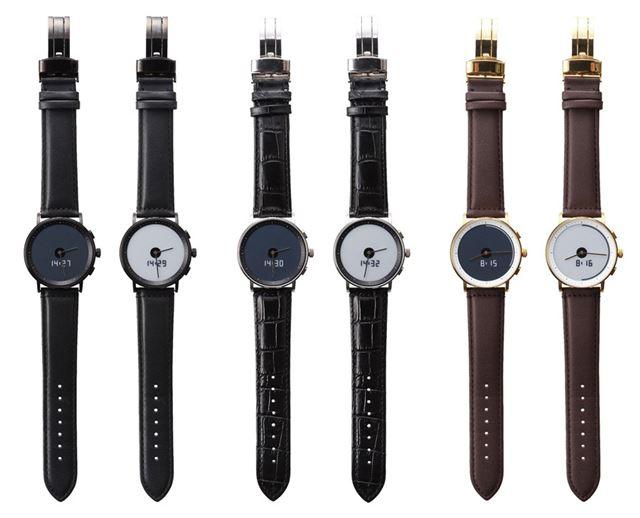 ディスプレイの色が変わるだけで、時計本体の印象は変わる