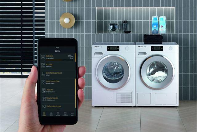 スマホアプリを使って、質問に答えていくだけで最適な洗濯モードが簡単に設定できるアシスタント機能は便利