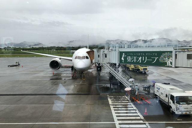 今回搭乗したのはANAによる羽田-高松間の国内便