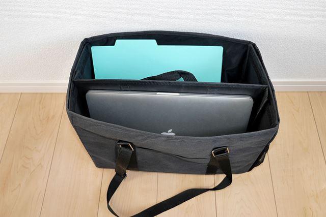 A4サイズのノートパソコンや書類を入れるのにはよさそうだけど……