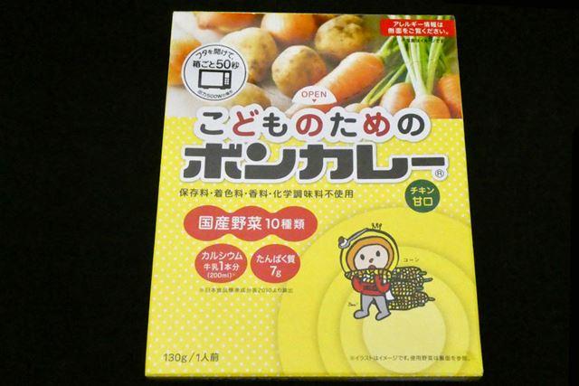 2016年発売。甘口のみ。内容量は130g。希望小売価格は160円(税別)
