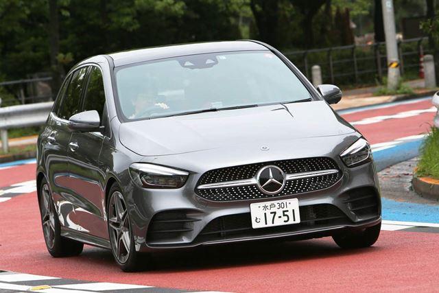 メルセデス・ベンツ 新型「Bクラス」先代とまるで違う!軽快な走りが魅力的