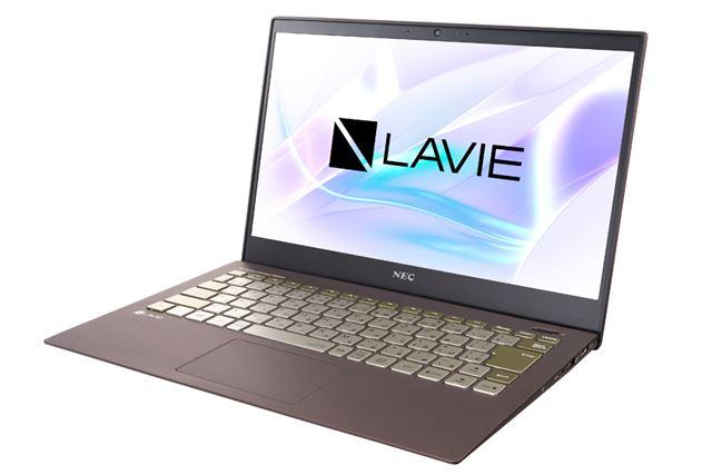 PC-8001のイメージを継承したLAVIE Pro Mobileの特別カラーモデル