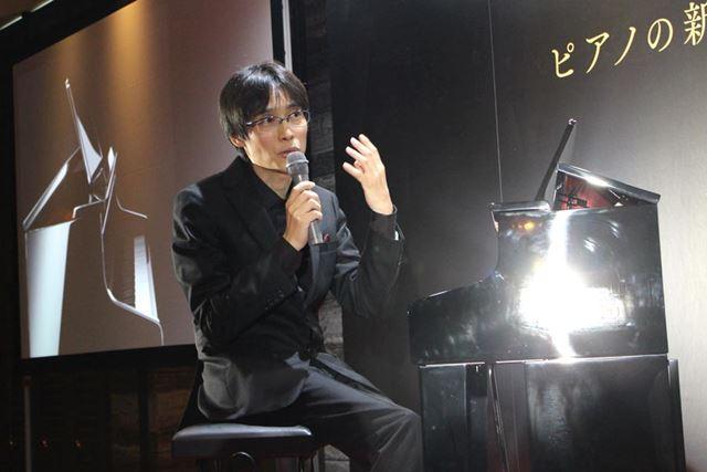 国内外で高い人気を誇るピアニストの近藤嘉宏さんが、新しい「CELVIANO Grand Hybrid」の魅力を語る