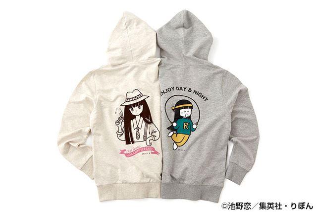 【池野恋40周年コラボ】プリントパーカ