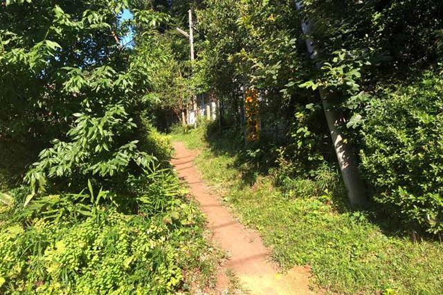 よさげなトレイルを見つけても、自転車走行が許可されていなければ走ることはできない