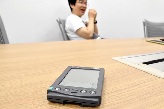 Palm Pilotとの出会いについて語る、伊藤氏