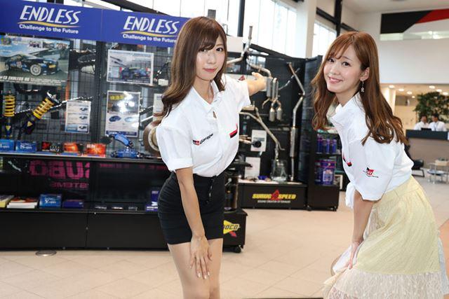 生田ちむさん(左)と中村比菜さん(右)