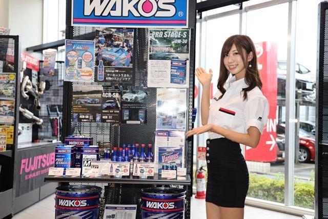「WAKO'S GIRLS」のメンバーである生田ちむさんが、みずから同社の商品を紹介する場面も