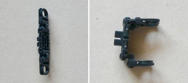 ランナーから切り離すだけで、このように可動するパーツとして使うことができます