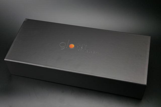 「グロー・センス」の試用品が納められたボックス。BATの本気度を示すかのような、高級なボックスだ