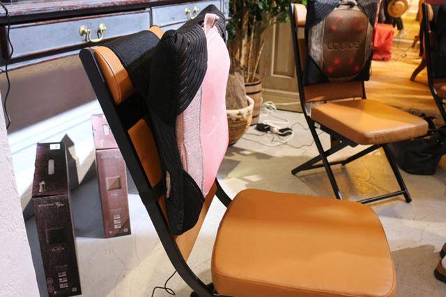 約9cmと薄いので、座面の狭いイスにも無理なく設置が可能