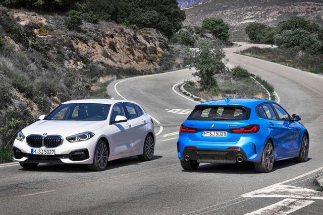 BMW 新型「1シリーズ」の外観イメージ