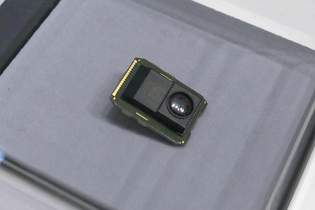 サーマルダイオード赤外線センサー。民生用に小型化しました