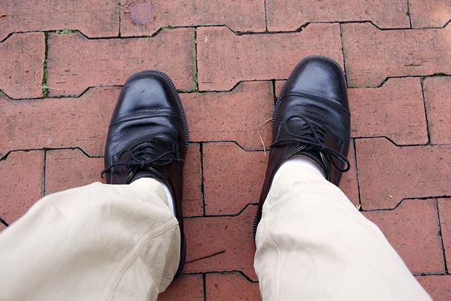 中までビショビショになった革靴とか、想像しただけでもつらい