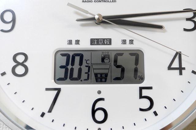 室温は約30℃……なかなかの暑さ