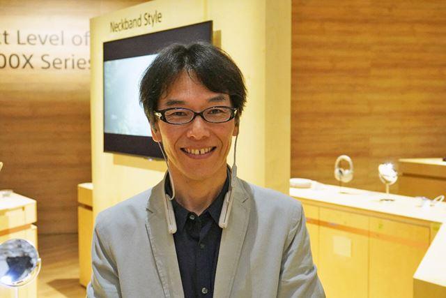 現地で取材対応をしていただいた設計の大橋篤人氏