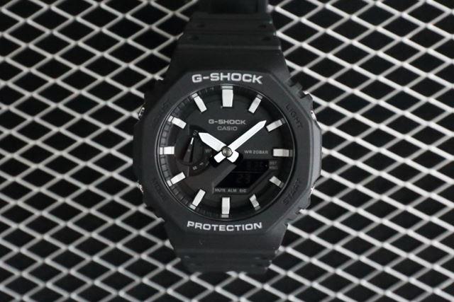 2019年8月に発売された、カシオ計算機のG-SHOCK「GA-2100」