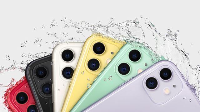 カメラ部分はiPhone 11 Proと同じデザインだが、カメラは2つ