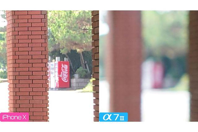 遠くの「Coca-Cola」の文字もハッキリ認識できてしまう始末です……