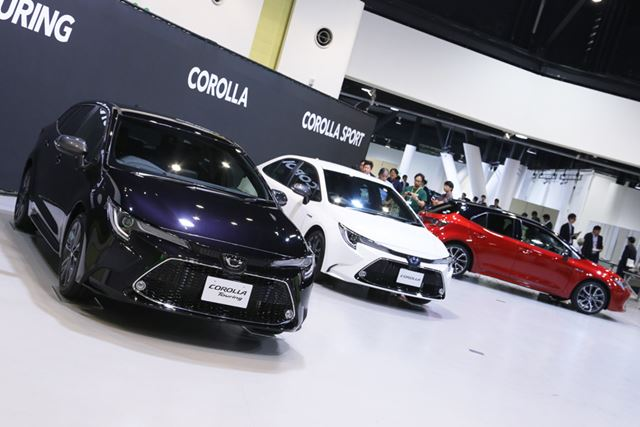 今回、セダンのトヨタ「カローラ」とワゴンの「カローラツーリング」がフルモデルチェンジされた
