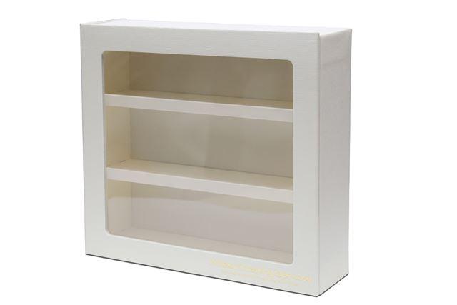 シンプルで高級感のあるマステ専用棚「ヒメクリマスキングテープケース」