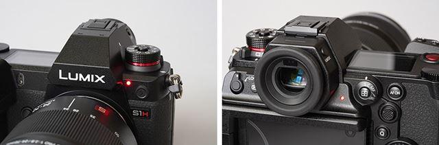 前面と背面それぞれにカメラの動作を知らせるタリーランプを搭載。それぞれ機能をオフにすることもできる