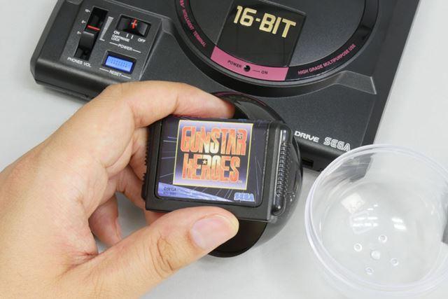 「東京ゲームショウ2019」でゲットした「ガンスターヒーローズ」のメガドライブカートリッジミニ