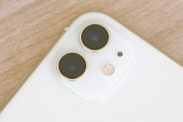 iPhone 11は「超広角+広角」のデュアルカメラを搭載