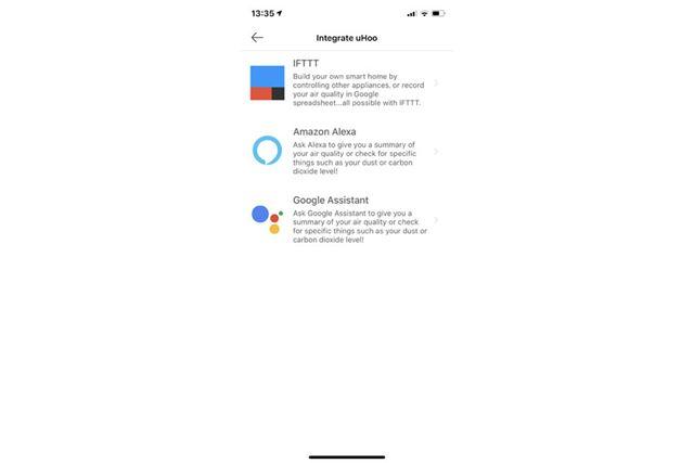 IFTTTを利用した他のスマート家電との連携をサポート、GoogleアシスタントやAmazon Alexaとも連携できる