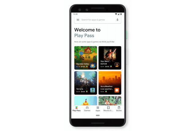 ゲームに加えてアプリも使える「Google Play Pass」