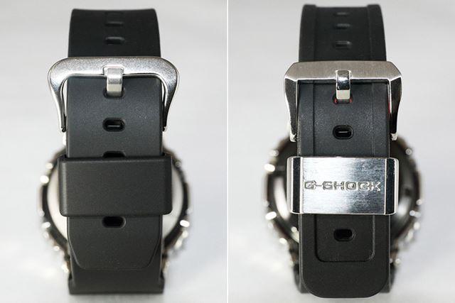 美錠や遊環は、「GM-5600-1JF」がシンプルで「GMW-B5000-1JF」は高級な雰囲気