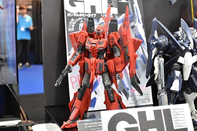 「MG 1/100 MSZ-006P2/3C ゼータガンダム3号機P2型 レッド・ゼータ」