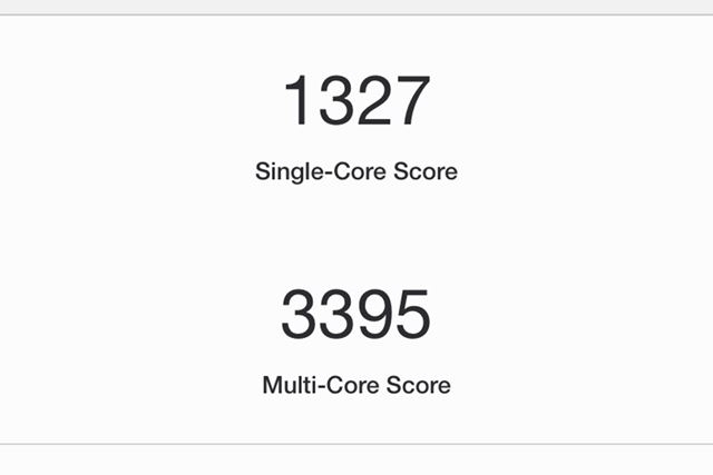 iPhone 11のGeekBench 5 Proの結果
