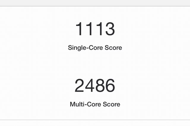 iPhone XS MaxのGeekBench 5 Proの結果
