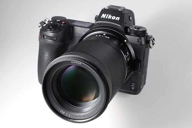フルサイズミラーレス「Z 6」にNIKKOR Z 85mm f/1.8 Sを装着。今回は、主にこの組み合わせで試用した
