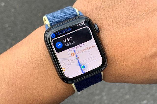 マップアプリで自分の向いている方向がわかるのは便利。これまでなかったのが不思議なくらいだ
